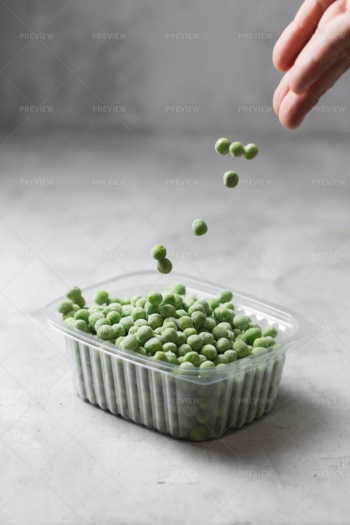 Frozen Peas: Stock Photos