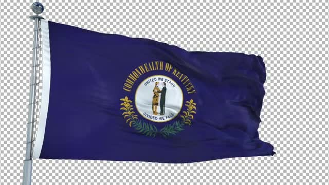Kentucky Flag: Stock Motion Graphics