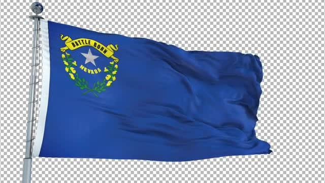 Nevada Flag: Stock Motion Graphics
