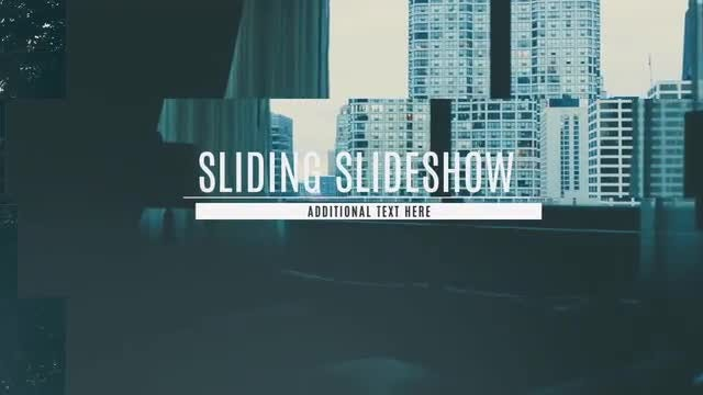 Sliding Slideshow: After Effects Templates