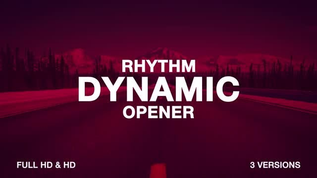 Opener Intro: After Effects Templates