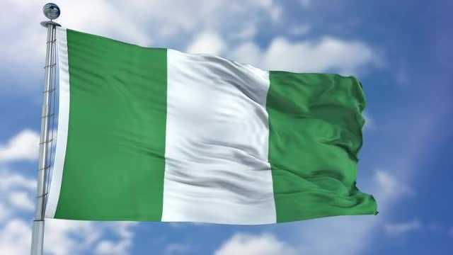 Nigeria Flag Animation: Stock Motion Graphics