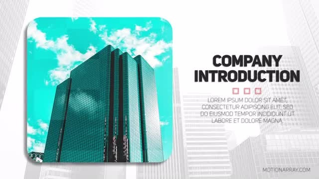 Clean Company Presentation: After Effects Templates