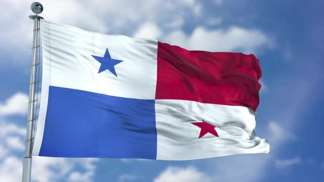 Panama Flag Animation: Stock Motion Graphics
