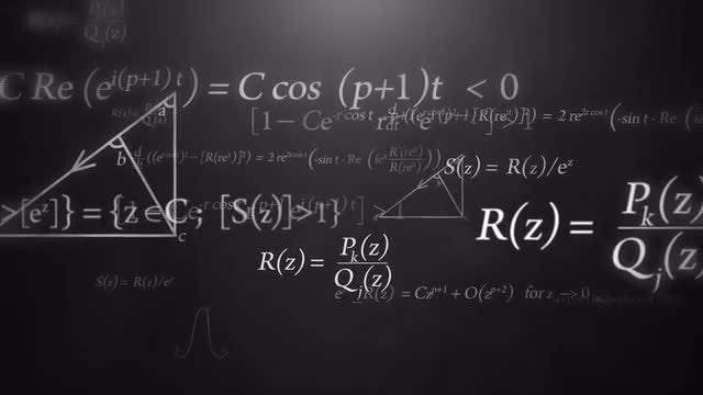 Mathematical Formulas: Stock Motion Graphics