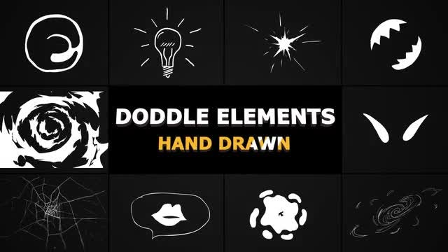 Flash FX Doodle Elements: After Effects Templates