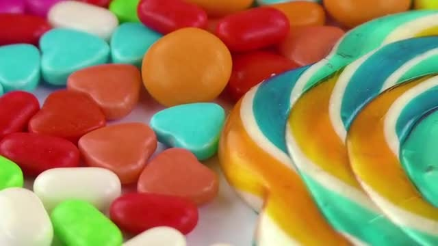 Delicious Sugar Candy Pack 7: Stock Video