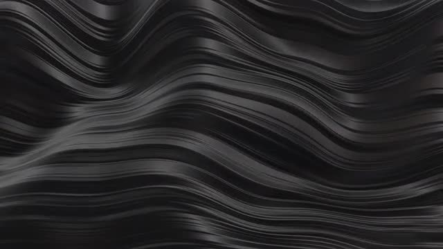 Black Rubber Waves: Stock Motion Graphics