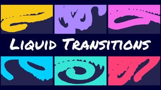 Liquid Transitions: After Effects Templates