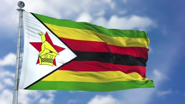 Zimbabwe Flag Animation: Stock Motion Graphics