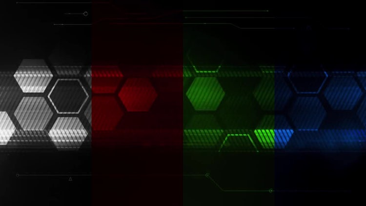 HexaTech Loop Background Pack: Stock Motion Graphics