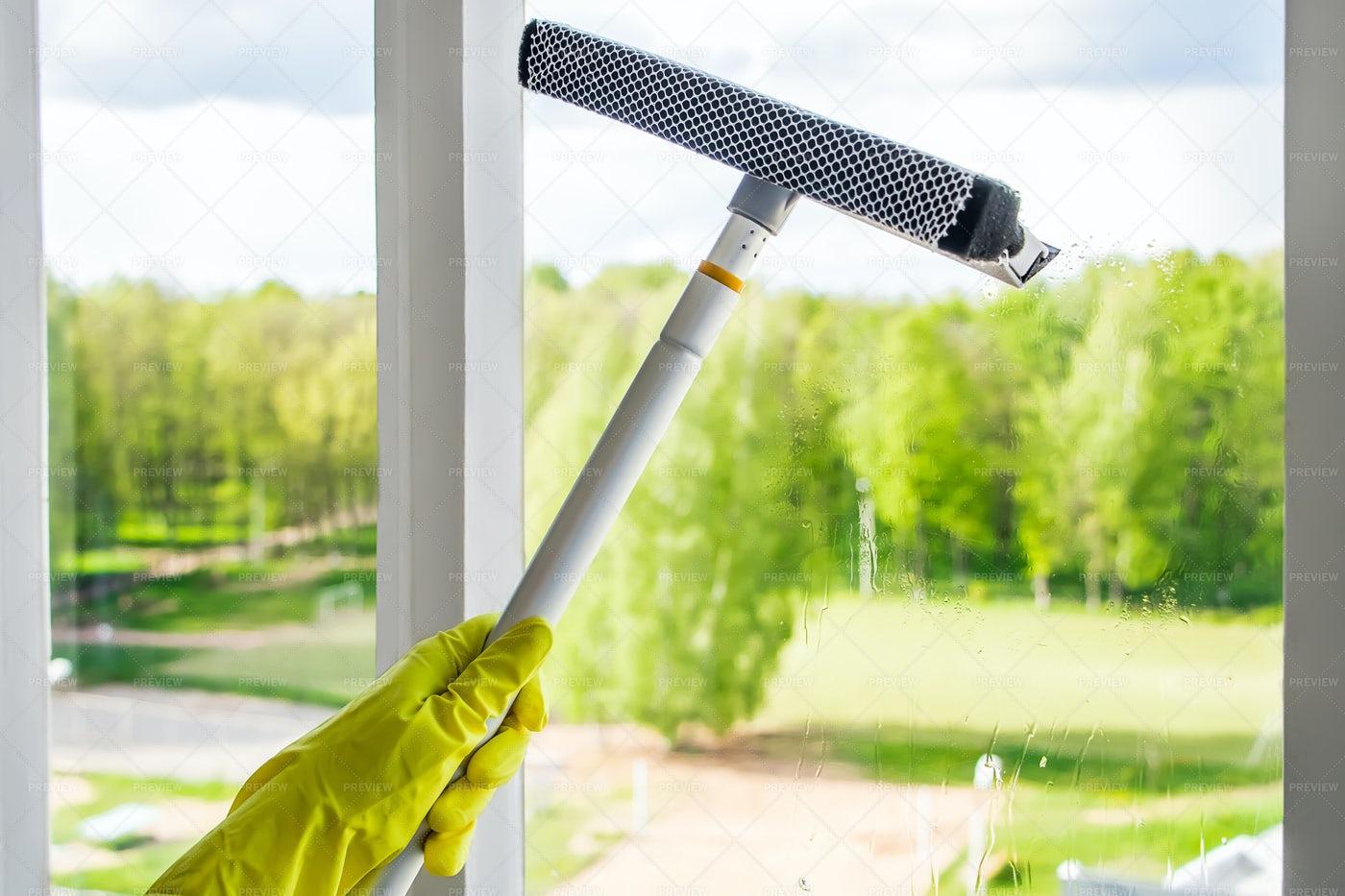 Window Cleaner Tool: Stock Photos