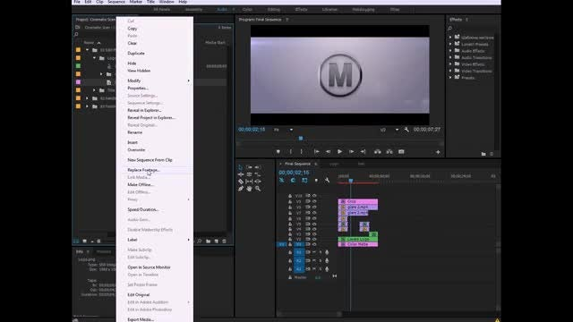 Cinematic Scan - Logo: Premiere Pro Templates