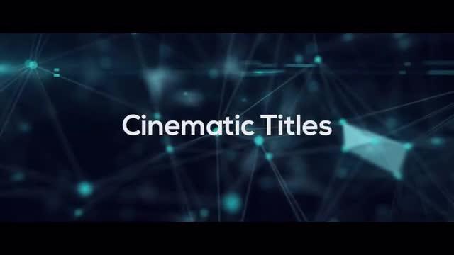 Cinematic Titles - Premiere Pro Templates 74563