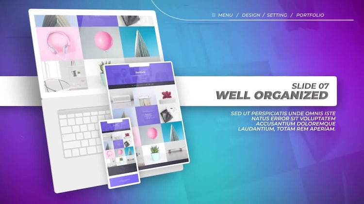 Website Promo: After Effects Templates