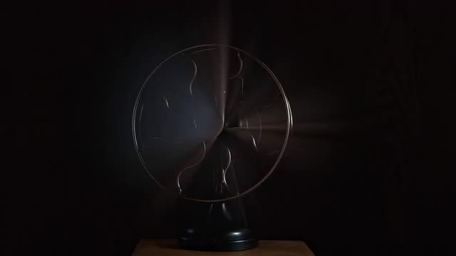 A Traditional Fan Rotating : Stock Video