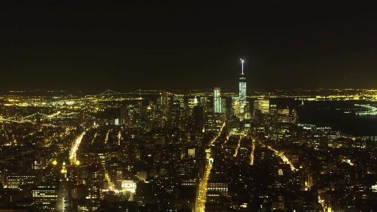 NYC Time-lapse From Empire State: Stock Video