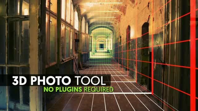 3D Photo Tool: After Effects Templates