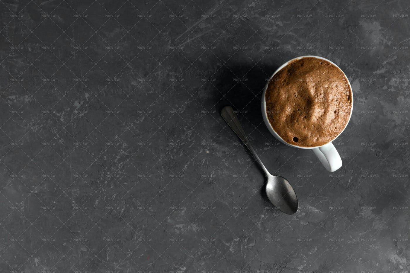 Creamy Dalgona Coffee: Stock Photos