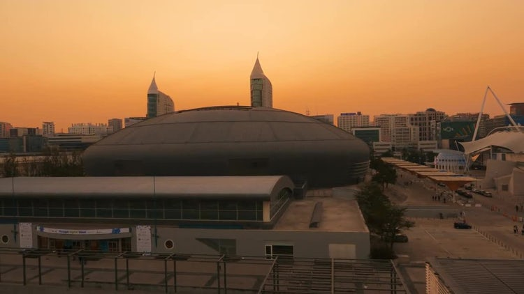 POV Of The Altice Arena: Stock Video
