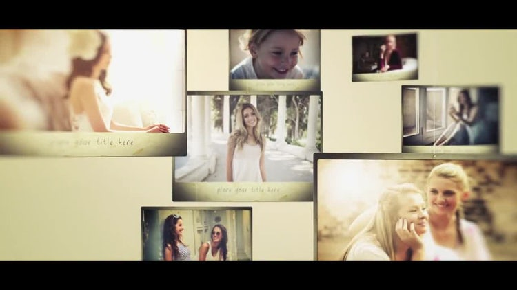 Classic Slideshow: After Effects Templates