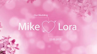 Modern Wedding Titles Pack: Motion Graphics Templates