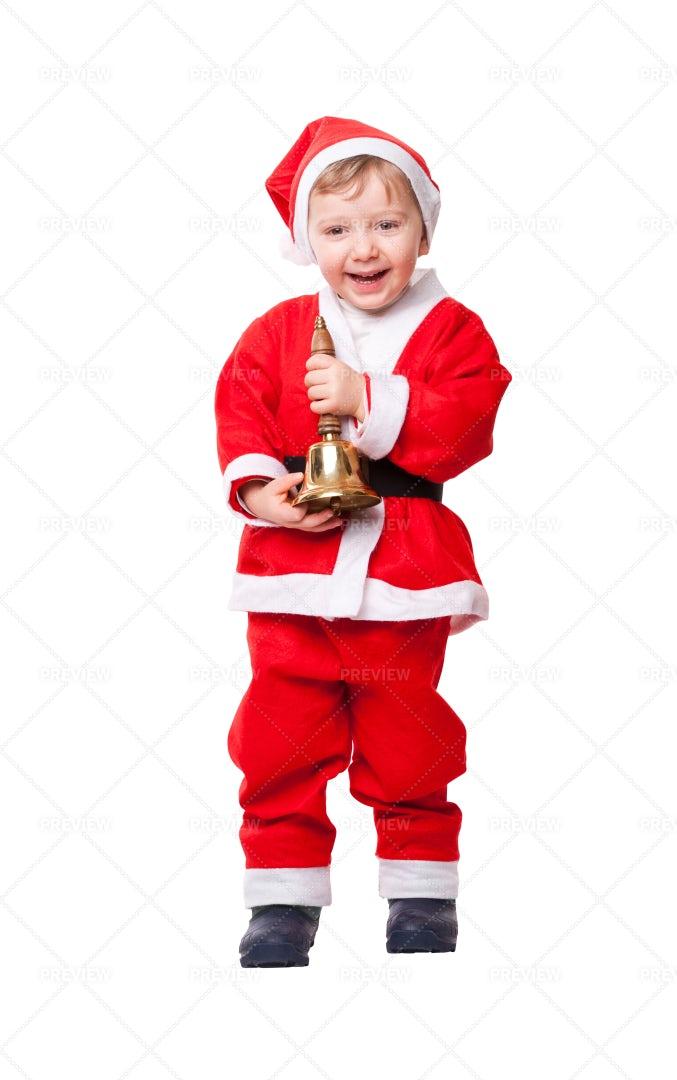 Santa Claus Child: Stock Photos
