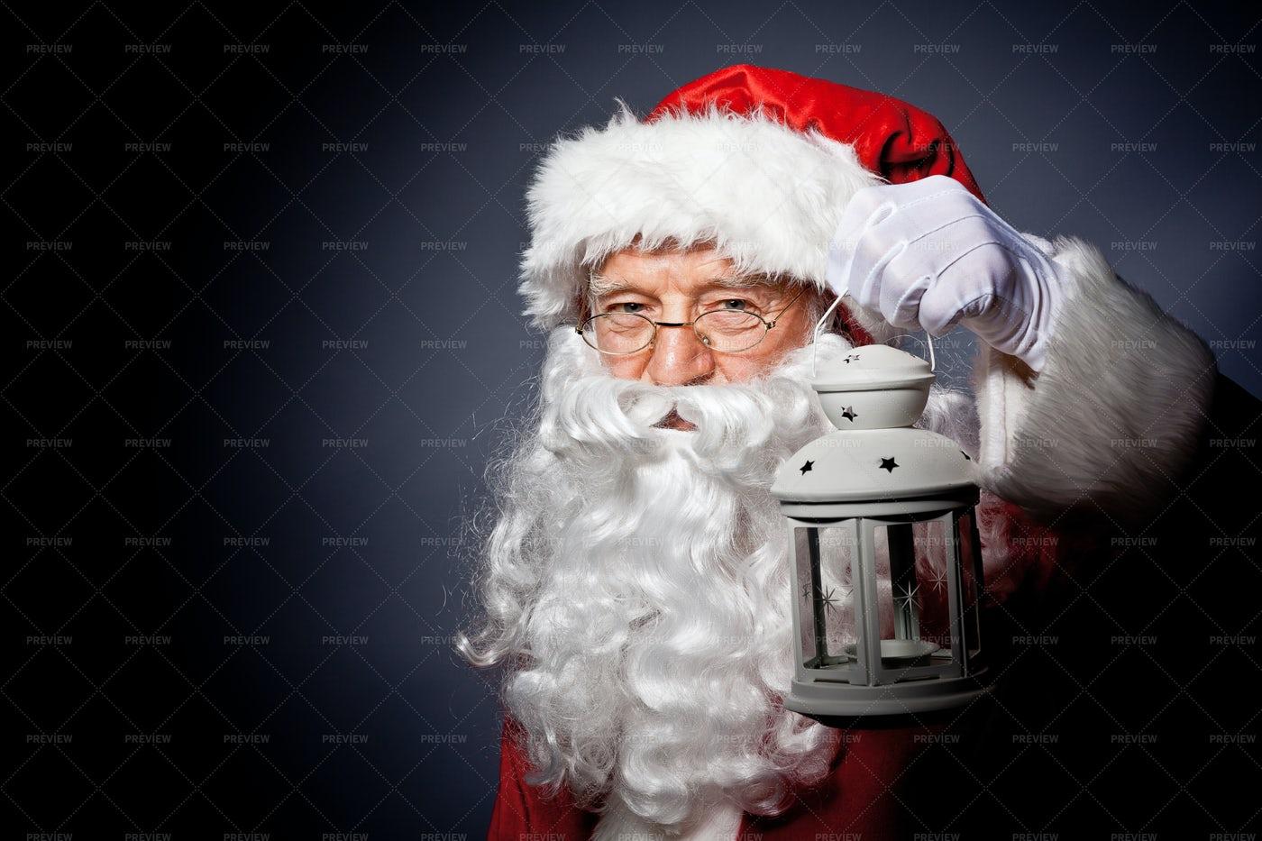 Santa Claus Portrait: Stock Photos