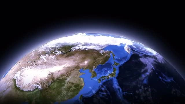 Glowing Earth: Stock Motion Graphics