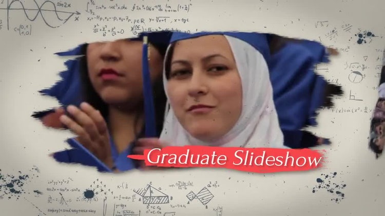 Graduate Slideshow: After Effects Templates