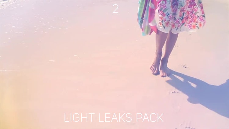 Light Leaks pack: Motion Graphics