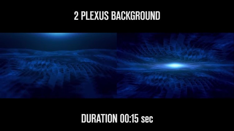 2 Plexus Backgrounds: Stock Motion Graphics