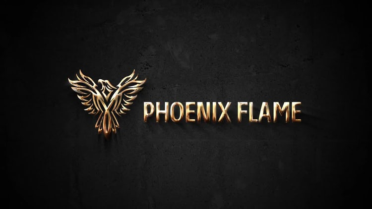 Simple Gold Logo: After Effects Templates