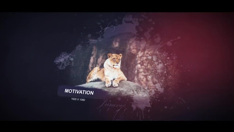 Dramatic Inspiring Slideshow: After Effects Templates