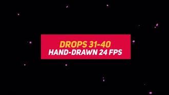 Liquid Elements 2 Drops 31-40: Motion Graphics