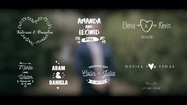 Wedding Titles V3 - Premiere Pro Templates | Motion Array