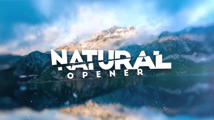 Epic Natural Slide: After Effects Templates