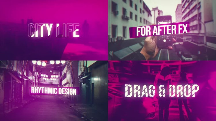 City Life Opener: After Effects Templates