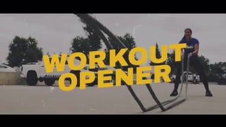 Workout Opener: Premiere Pro Templates