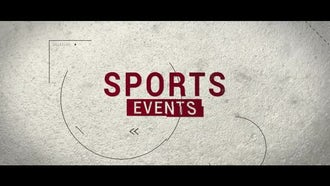 Sports Intro: After Effects Templates