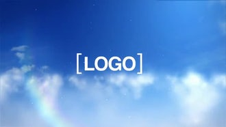 Cloud Logo: After Effects Templates