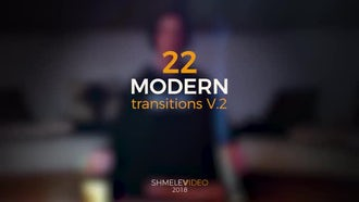 Modern Transitions V.2: Premiere Pro Templates