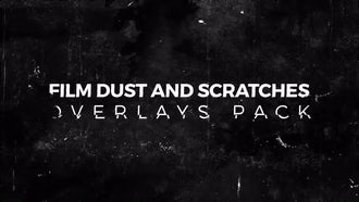Film Dust And Scratches Pack: Motion Graphics