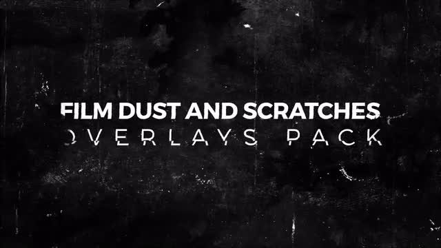 Film Dust And Scratches Pack: Stock Motion Graphics