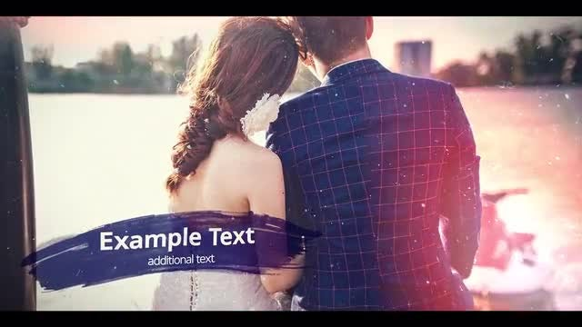 Wedding Ink Slideshow: After Effects Templates