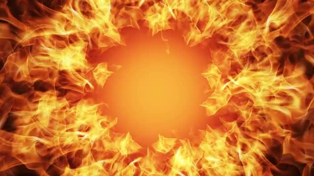 Power Flames: Stock Motion Graphics