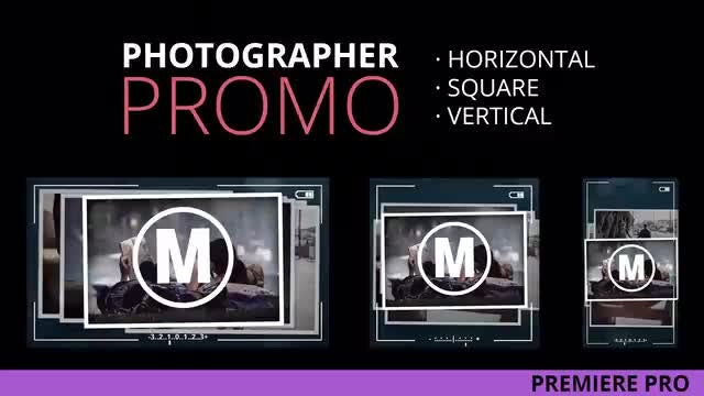 Photographer Promo: Premiere Pro Templates