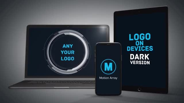 Logo On Devices: After Effects Templates