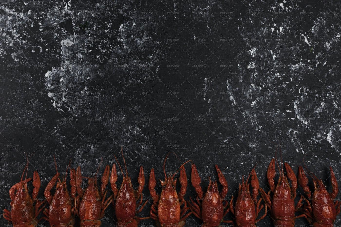 Red Crayfish: Stock Photos