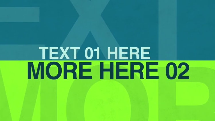Big Text: After Effects Templates